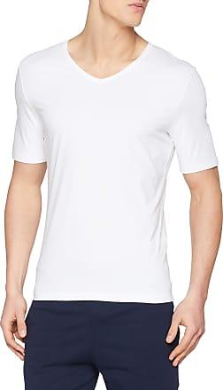 sloggi Mens Ever Fresh V-Neck Vest, White (White 0003), Medium (Size: 5)