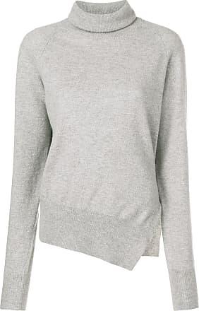 Zanone side slit jumper - Grey