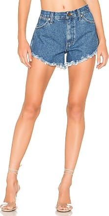 Wrangler Rigid Cut Off Shorts in Dark Stone