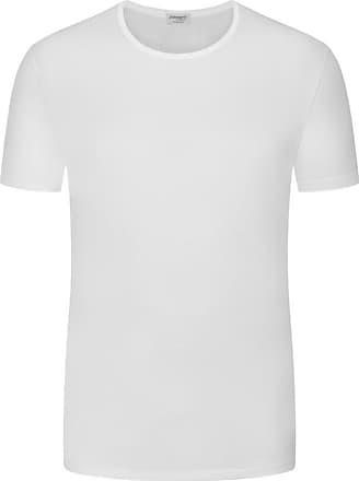Zimmerli Übergröße : Zimmerli, Unterhemd, O-Neck in Weiss für Herren