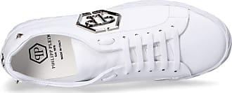 Philipp Plein Lo-Top Original Sneakers, 40 White