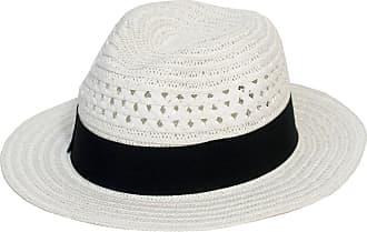 Hat To Socks Panama Style Fedora Hat (57 cm, White)