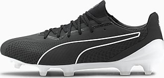 Puma King Platinum Lazertouch FG/AG Mens Football Boots, Black/White, size 6.5, Shoes