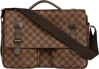 dee28f0d93c5 Louis Vuitton Brown Damier Ebene Coated Canvas Broadway Bag