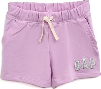 GAP Short GAP Infantil Logo Lilás