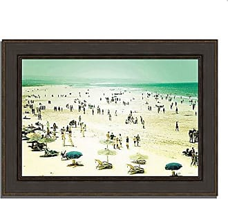 Tangletown Fine Art Caravan of Dreams by Keri Bevan Framed Art, Blue/Green/White
