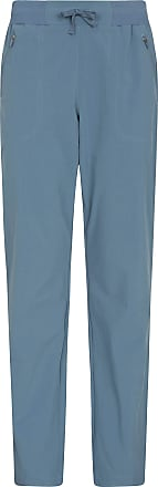 Mountain Warehouse Explorer Womens Trousers - UV Protection Ladies Pants, Lightweight Bottoms, Shrink & Fade Resistant, Multiple Pockets-Best for Outdoors, Picnic, Parks