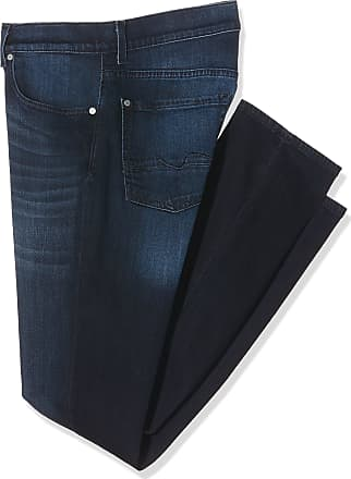7 For All Mankind Mens Slimmy Jeans, Blue (Indigo 0AI), 32 W/34 L