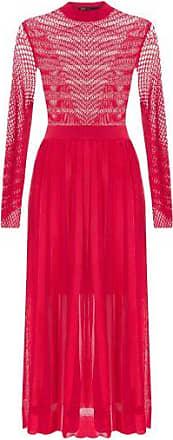 Fabulous Agilità Vestido Midi Jacque Fabulous Agilitá - Vermelho