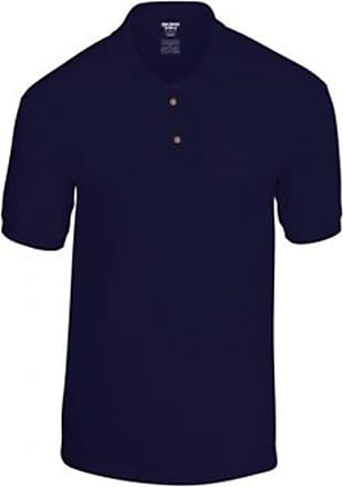 Gildan Gildan DryBlend Jersey Polo : Color - Navy : Size - L