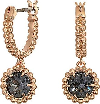 b7ea98fef Swarovski Oxygen Pierced Earrings (Gray/Rose Gold Plating) Earring