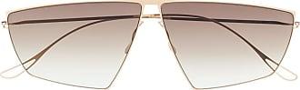 Haffmans & Neumeister Óculos de sol angulado - Dourado