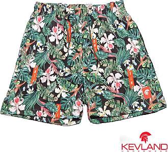 Kevland Underwear Short Kevland Floral KVLND Tamanho:GG;Cor:Verde
