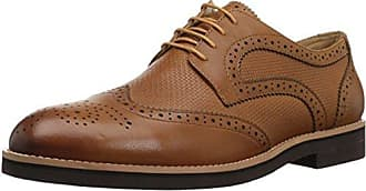 English Laundry Mens Cleave Oxford, Cognac, 10.5 Standard US Width US
