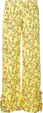 Baum Und Pferdgarten Calça reta com estampa floral - Amarelo