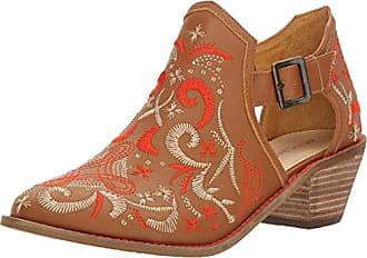 Kelsi Dagger Womens Kline Ankle Boot, Cinnamon, 6.5 M US