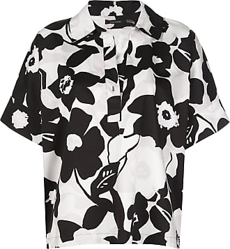 Natori Camisa com estampa floral - Preto