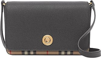 Burberry small Vintage check panel crossbody bag - Preto