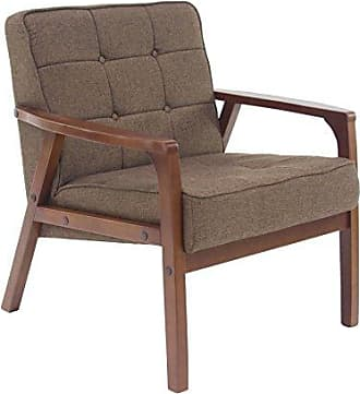 UMA Enterprises Inc. Deco 79 62785 Armchair, Brown