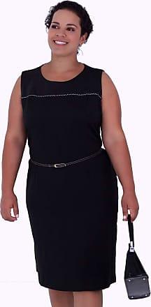 Vickttoria Vick Vestido Helen Black Plus Size (44)