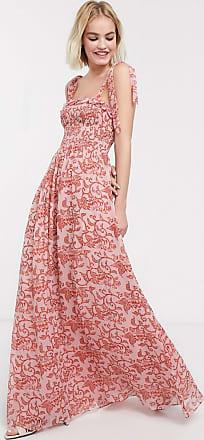 Whistles Bali print maxi dress-Multi