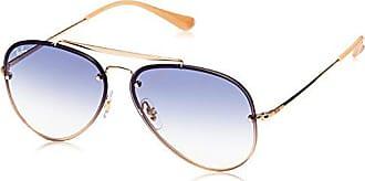 c5309f9b8e Ray-Ban RAYBAN Unisex-Erwachsene Sonnenbrille 0rb3584n 001 19 61  Gold Cleargradientlightblue