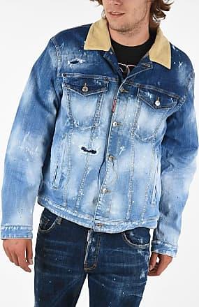 Dsquared2 Denim Effetto Vintage Jacket size Xs