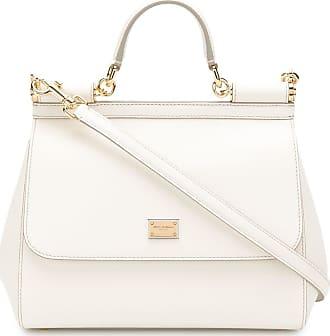 Dolce & Gabbana Bolsa tote Sicily média - Branco