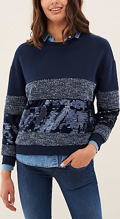 Suéteres Ropa Mujer Mujer, Azul (Navy 5959) 44 (Talla del