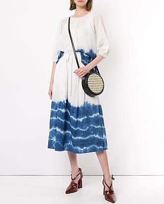 Karen Walker Horizon tie dye skirt - Blue