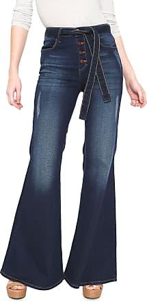 Oh, Boy! Calça Jeans OH BOY Flare Botões Azul