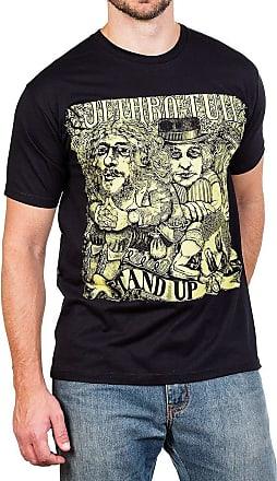 Bandalheira Camiseta Jethro Tull Stand Up Preta