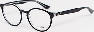 Ray-Ban 0RX5380 round glasses with demo lens-Black