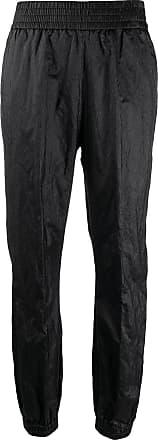 Fabiana Filippi metallic tapered trousers - Black