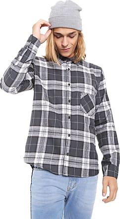 Hurley Camisa Hurley Reta Fog Cinza