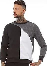 Brave Soul brushback fleece crew neck sweatshirt
