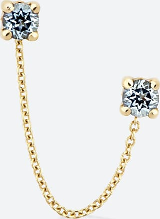 Gold&Roses DOUBLE ROCK CHAIN OHRRINGE