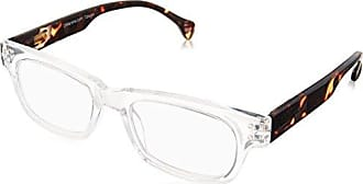 Peepers Unisex-Adult Hastag 2153300 Rectangular Reading Glasses, Clear/Tortoise