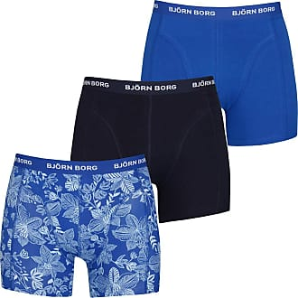 3 Pc Cotton Underwear Bj/örn Borg Essential Mens Boxer Shorts Knickers for Men