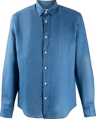 Sandro Camisa modelagem solta - Azul
