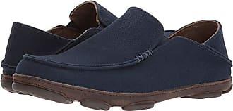 Olukai Moloa Kapa (Trench Blue/Dark Wood) Mens Shoes