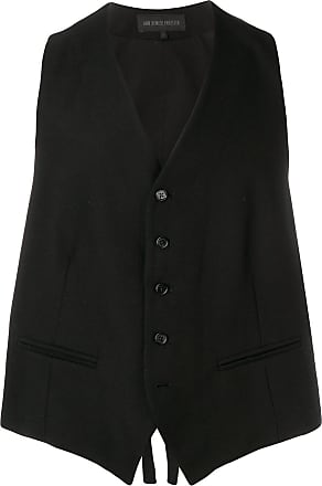 Ann Demeulemeester single breasted waistcoat - Black