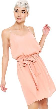 bb6faeee69 Colcci Vestido Colcci Curto com Faixa Rosa