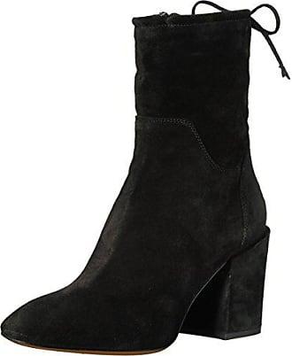 5f3e585a2894 Aquatalia Womens Floria Suede Ankle Boot Black 10 M US