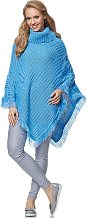Merry Style Womens Poncho MSSE0038 (Sapphire, S/M)