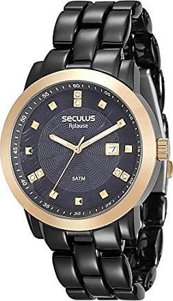 Seculus Relógio Seculus Feminino Ref: 20422lpsvha3 Fashion Black