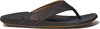 Olukai OluKai Mens Thong Sandals Dark Java/Dark Java