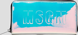 Msgm wallet with logo