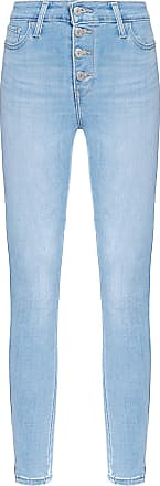 Levi's CALÇA FEMININA 721 SKINNY EXPOSED BUTTONS - AZUL