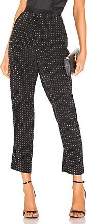 Fleur du Mal Studded PJ Pant in Black